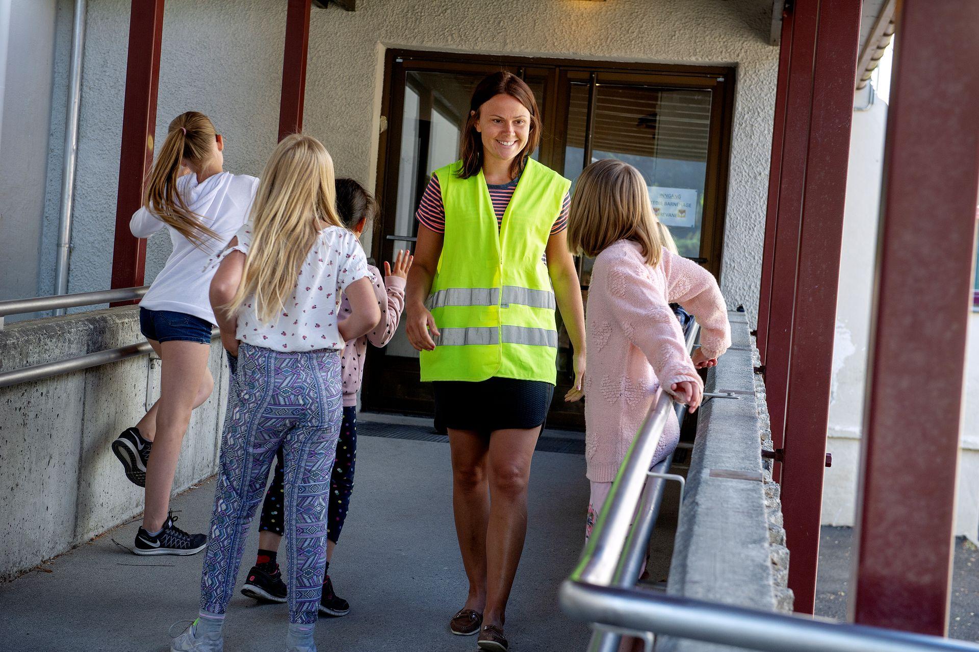 Siri Nummedal er  barnevernspedagog og jobber som miljøterapeut på Trudvang skule.